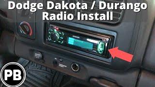 1997 - 2000 Dodge Dakota/Durango Stereo Install w/ Volume Controls