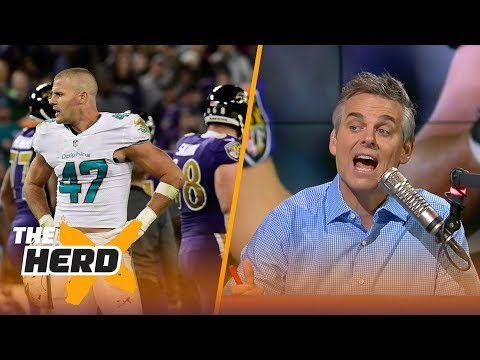 Colin Cowherd reacts to Kiko Alonso