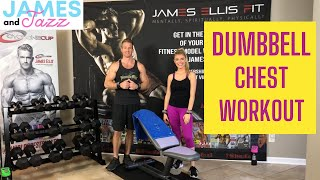 Dumbbell Chest Workout || Chest Workout Using Dumbbells || Tone Up || Build Muscle || Versa Gripps