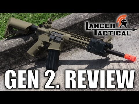 Lancer Tactical Gen 2 Keymod M4 Review (LT-19) - Airsoft GI