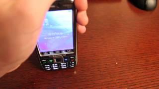 Видео обзор телефона Nokia TV E71(Видео обзор на китайские телефон