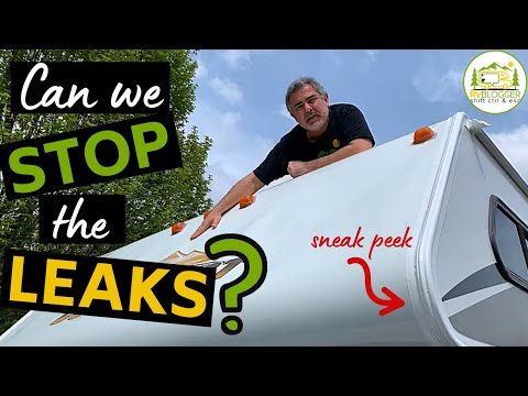 RV Roof Replacement! No More Roof Leaks!