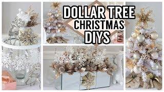 DOLLAR TREE GLAM CHRISTMAS DIYS 2019
