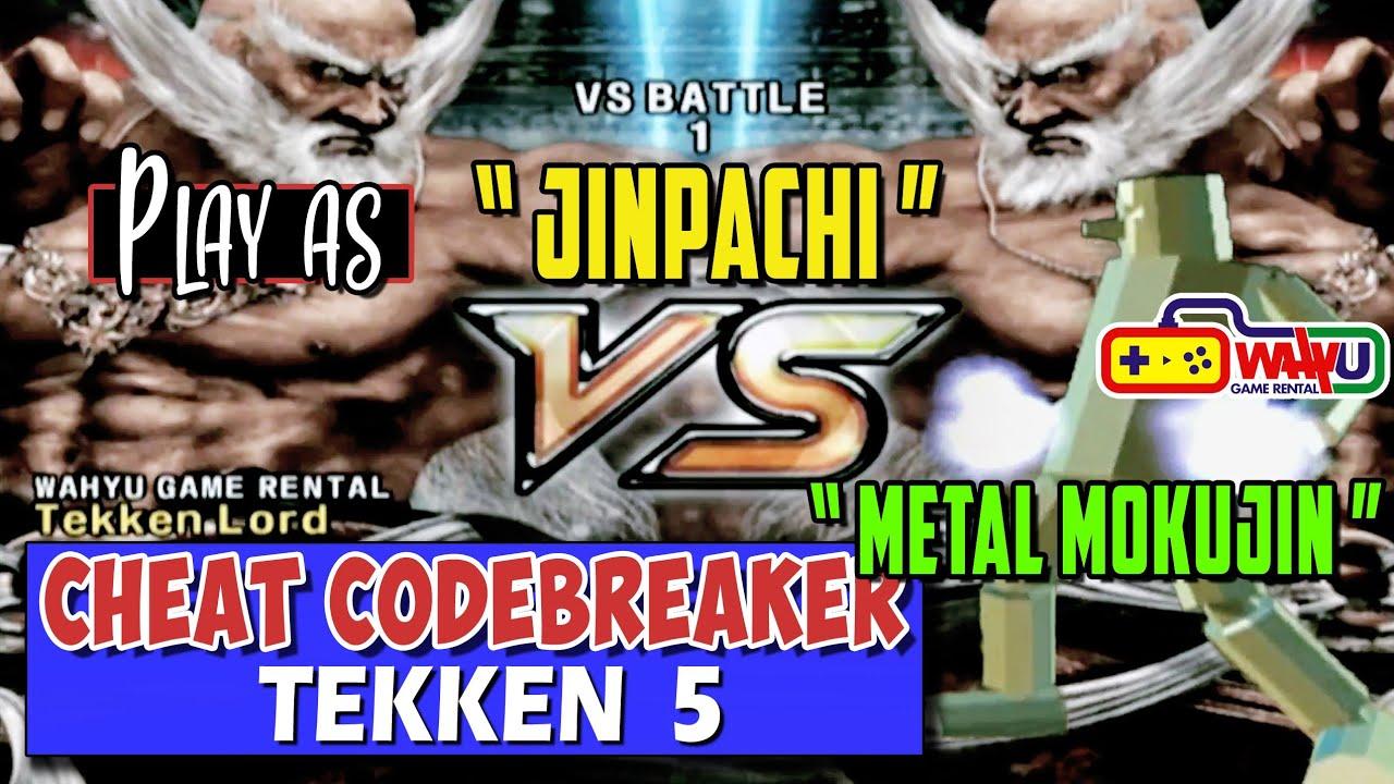 Cara Cheat Tekken 5 Ps2 Jinpachi Youtube