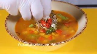 Суп весенний с мятой
