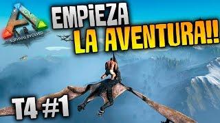 ARK Survival Evolved T4 #1 MODS | COMIENZA LA AVENTURA!!! | XxStratusxX