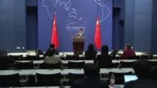 China spokesman on US talks; Al-Bashir removal