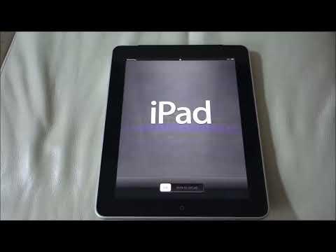 How to Reset iPad 1 to Factory Settings   Original Settings