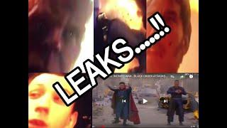 Avenger Infinity War Latest Updated Scenes Leaked Footage|Marvel Avenger infinity war|Leaked Footage