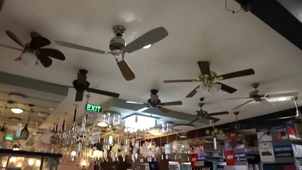 Ceiling Fans At Ace Hardware 2016 Display Youtube