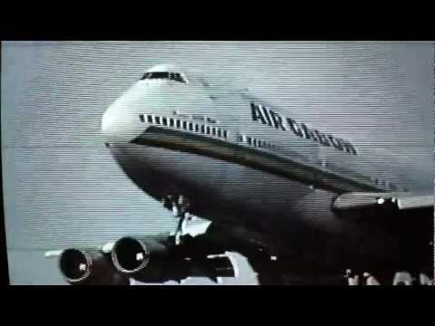 "Air Gabon Boeing 747 ""President LEON MBA""  F-ODJG  Toronto (YYZ)  Feb. 4, 1991"