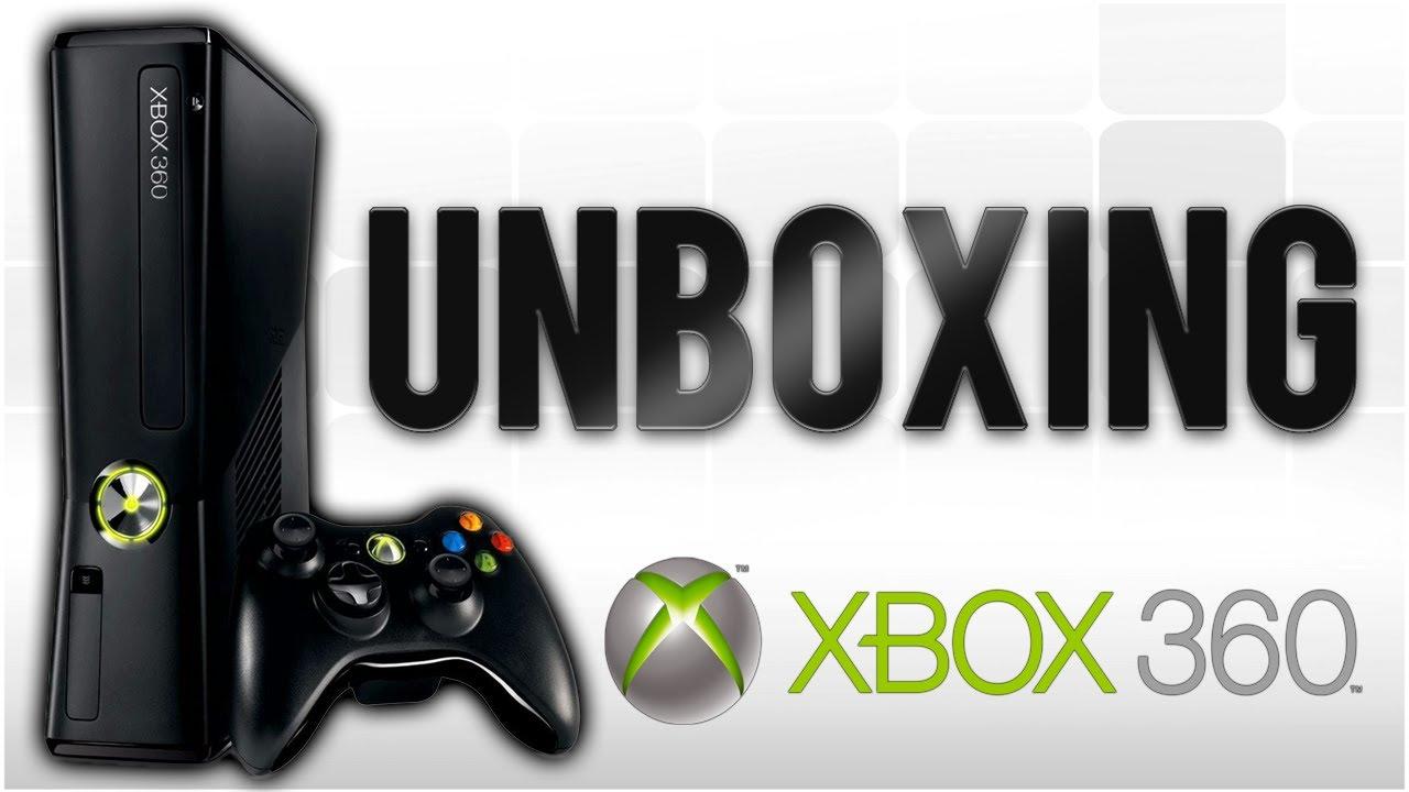 UNBOXING XBOX 360 - YouTube