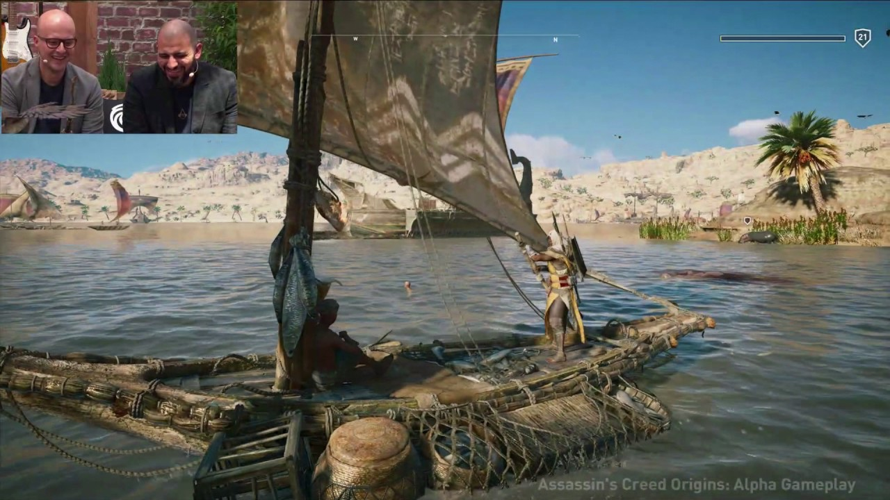 30 minutes of Assassin's Creed Origins gameplay - E3 2017 ...