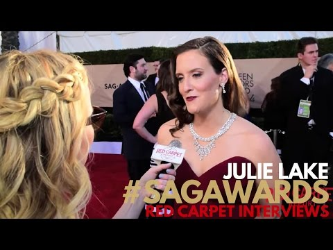 Julie Lake ed on the 23rd Screen Actors Guild Awards Red Carpet SAGAwards