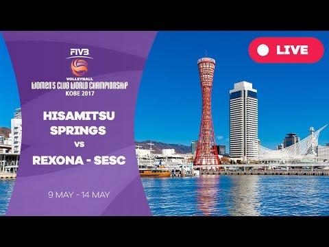 Hisamitsu Springs v Rexona-Sesc - Women's Club World Championship 2017 Kobe