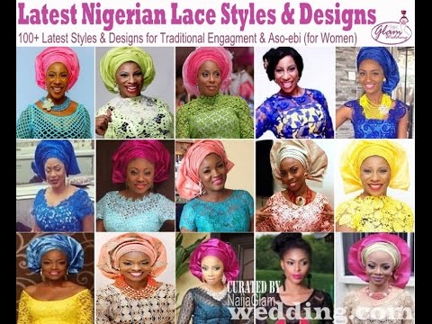 100 Latest Lace Styles & Colours for Women (Nigerian & African Fashion)