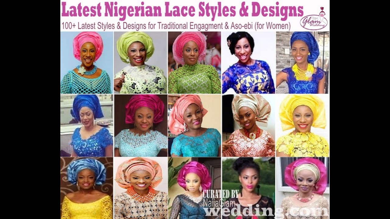 100 Latest Lace Styles amp Colours For Women Nigerian