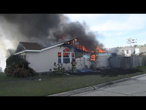 Fire destroys home in Belair subdivision near Slidell