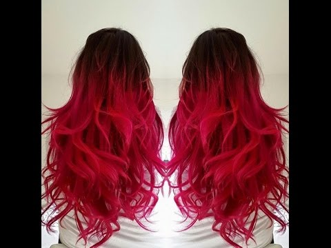 Balayage En Rojo Youtube