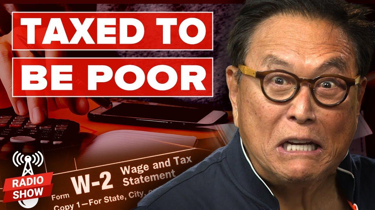 【富爸爸】注定贫穷-为什么普通人有交不完的税