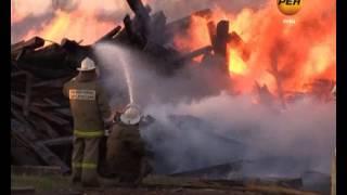 В Ельце в районе Орловского шоссе произошло крупное возгорание
