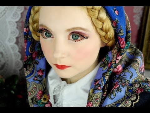 Russian Doll MATRYOSHKA Make Up