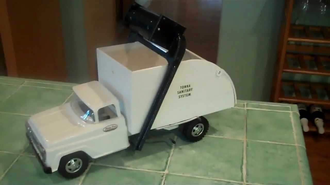 1960 Tonka Sanitation Truck