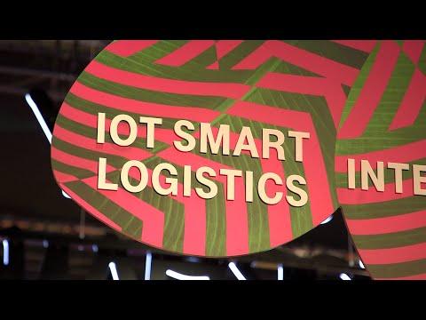 Social Media Post: Digitale Steuerung von Waren. IoT (Internet of Things) in der...