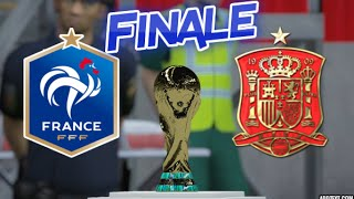 "[HD] France vs Espagne Finale Coupe du Monde Fifa 16 ""Game Du10"""
