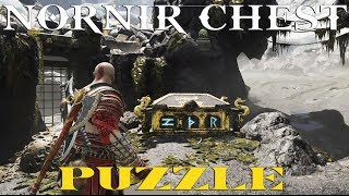 God Of War (Nornir Chest Puzzle - Cliffs of the Raven)
