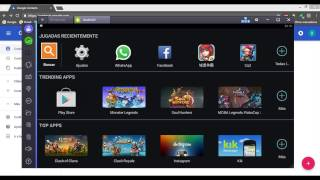 COMO AGREGAR CONTACTOS PARA WHATSAPP EN BLUESTACKS|PC