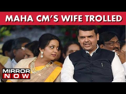Maha CM's Wife Amruta Fadnavis Trolled And Criticized On Twitter For Promoting Christmas I The News