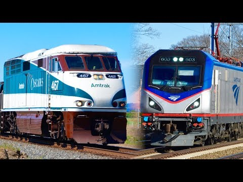 Amtrak Corridor Trains: Train Talk Ep. 17