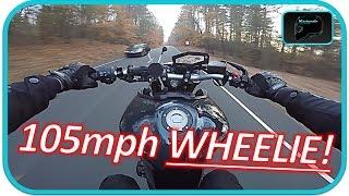 Yamaha Fz-09 WHEELIES at 105MPH!! | Fz09 Life!!