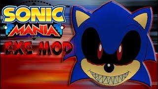 Обзор модов на Sonic Mania Sonic.EXE Mod V0.3