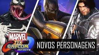 MARVEL VS CAPCOM INFINITE - 6 NOVOS PERSONAGENS (DLC)