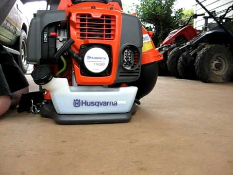 husqvarna 150bt youtube rh youtube com Husqvarna 130BT Parts Diagram Husqvarna 130BT Backpack Blower