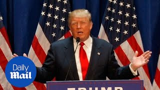2015: Republican Donald Trump claims net worth of $10 Billion - Daily Mail