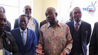 Chamisa: ED must officially launch Bins and Supermarkets  Not this Hopley Clinic