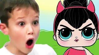 КРАСНЫЙ ШАР МИСТЕР МАКС спасает Катю, Злая куколка ЛОЛ, мультик игра Детский летсплей #35