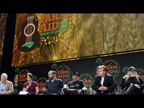Farm Aid 2014 Press Event