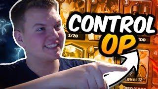 ANTI-META 12 WIN DECK! Miner Tornado Control Deck LIVE in Grand Challenge! - Clash Royale
