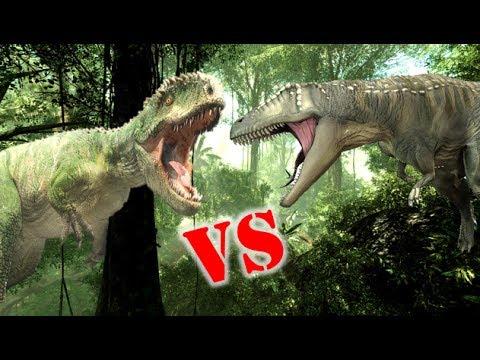 Carcharodontosaurus Vs Giganotosaurus Who Would Win? - YouTubeGiganotosaurus Vs Spinosaurus Who Would Win