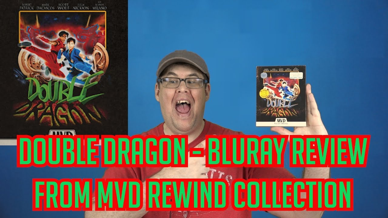 Download Double Dragon | Collector's Edition Bluray Review (MVD Rewind Collection)