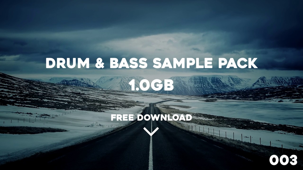 Drum & Bass Sample Pack - 003 - Free DL - YouTube