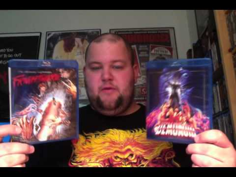 Vinegar Syndrome DEMONOID and FRIGHTMARE Blu-ray Reviews & collection update
