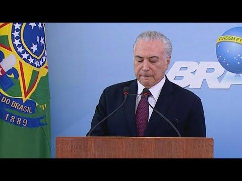 Temer diz que aproveita impopularidade para fazer reformas necessárias | SBT Brasil (28/04/18)