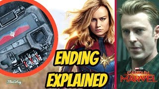 Captain Marvel Ending Explained | Movie Review Included | Brie Larson 2019