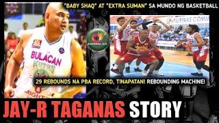 JAY-R TAGANAS STORY: TINAPATAN ANG PBA RECORD NA 29 REBOUNDS | TINAWAG NI MARK YEE NA EXTRA SUMAN