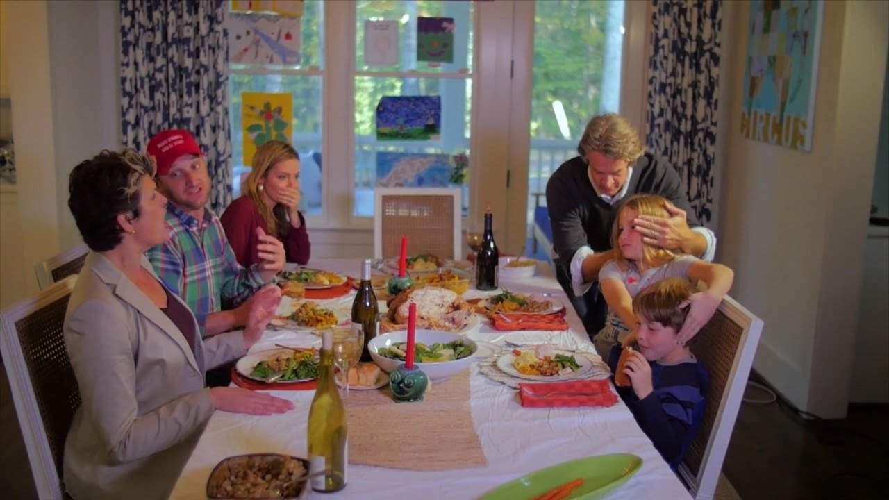 Hilarious Parody Shows How To Deal With Family Talking Politics On Thanksgiving